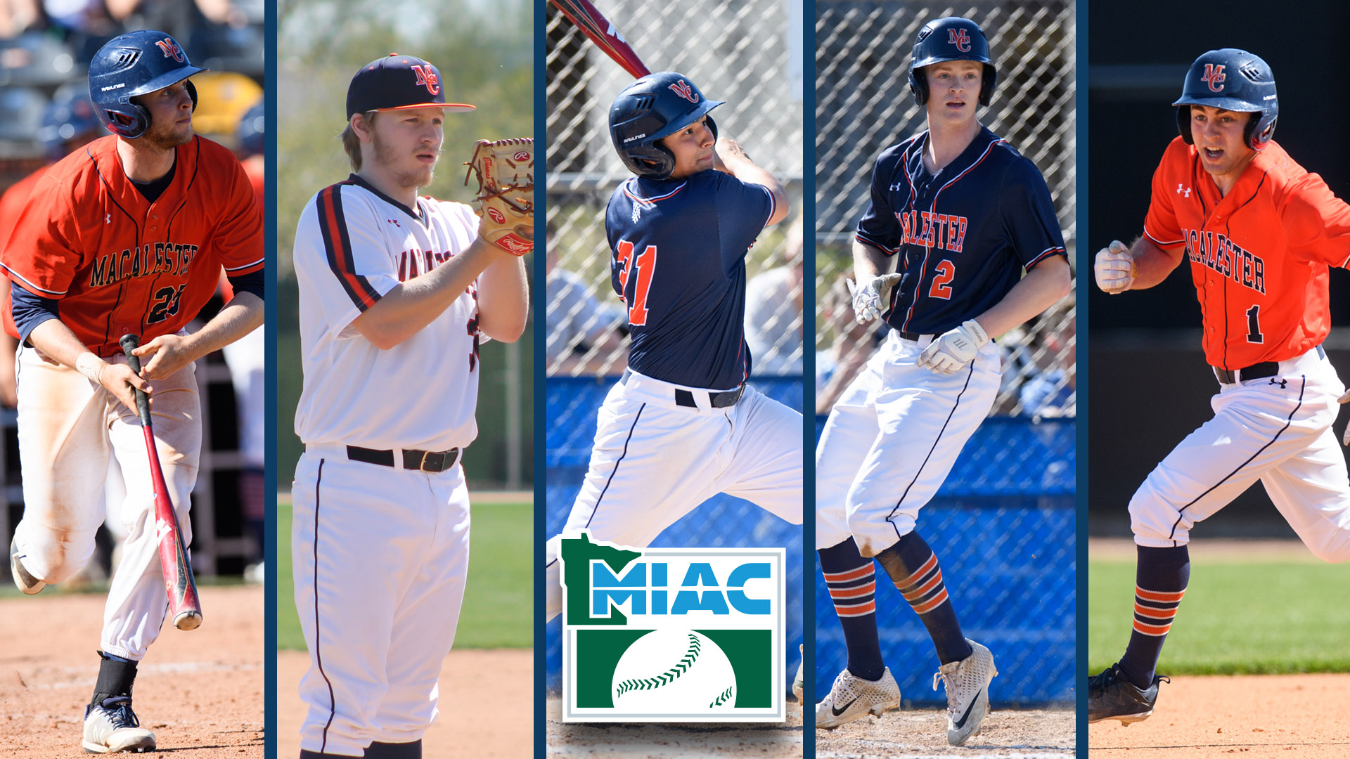 Baseball Graham Low Repeats As Miac Player Of The Year Macalester College Athletics
